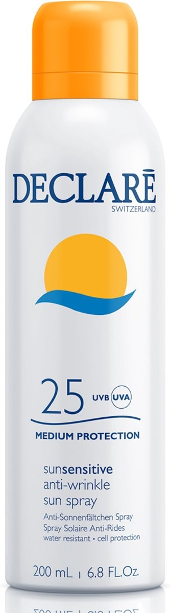 Foto van Declaré Anti-Wrinkle Sun Spray Spf 25