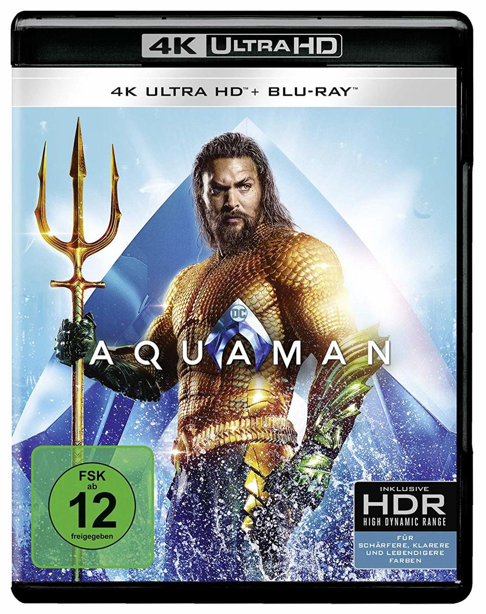 Aquaman (Ultra HD Blu-ray & Blu-ray)-