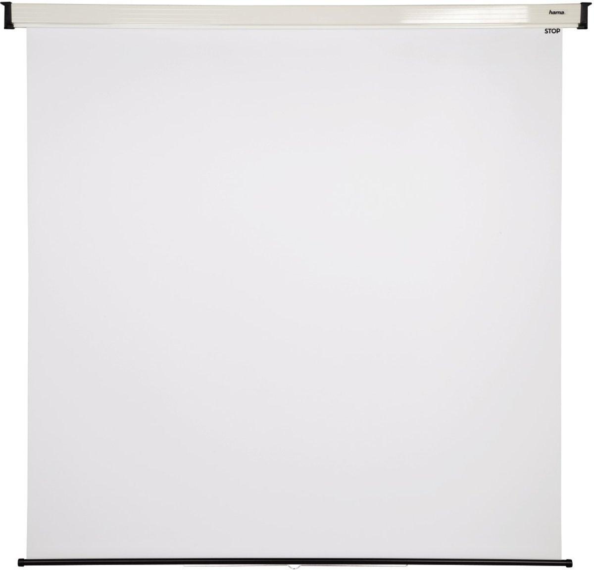 Hama Rollo-Projektionswand, 180 x 180 cm, 1:1 kopen
