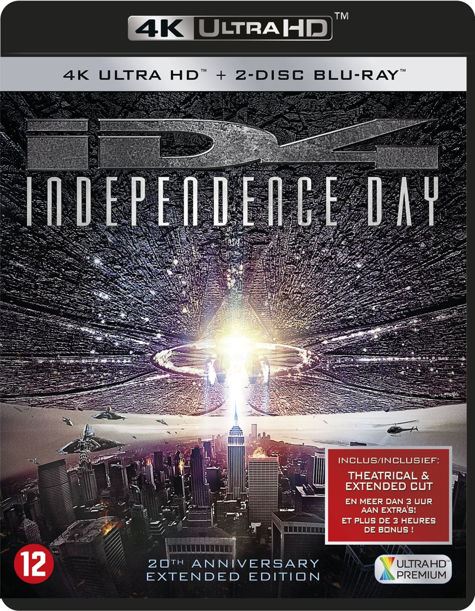 Independence Day - 20th Anniversary (4K Ultra HD Blu-ray)-