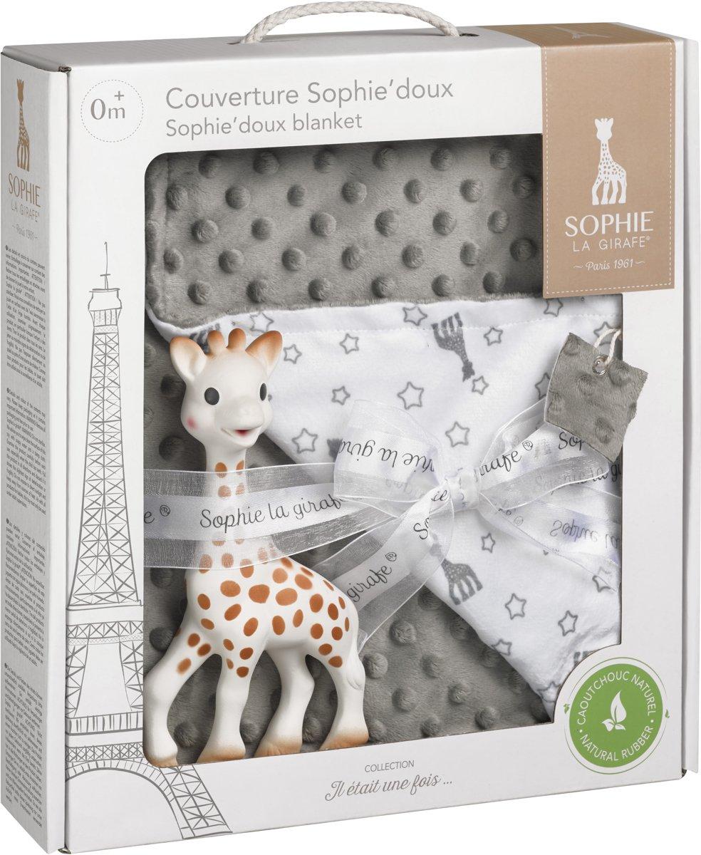Sophie de giraf set van Sophie'doux dekentje + Sophie de giraf
