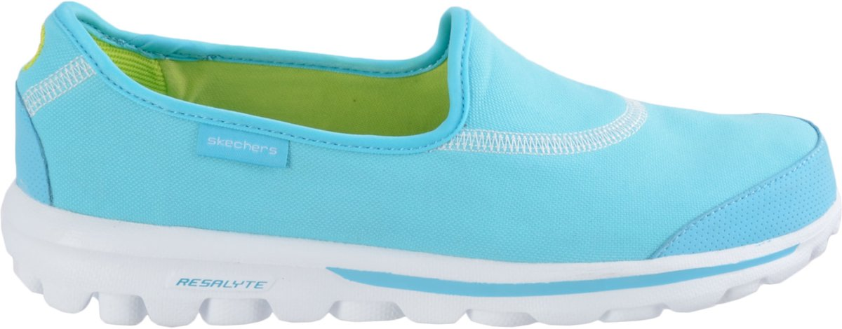 Skechers Go Walk 2 Dames Blauw