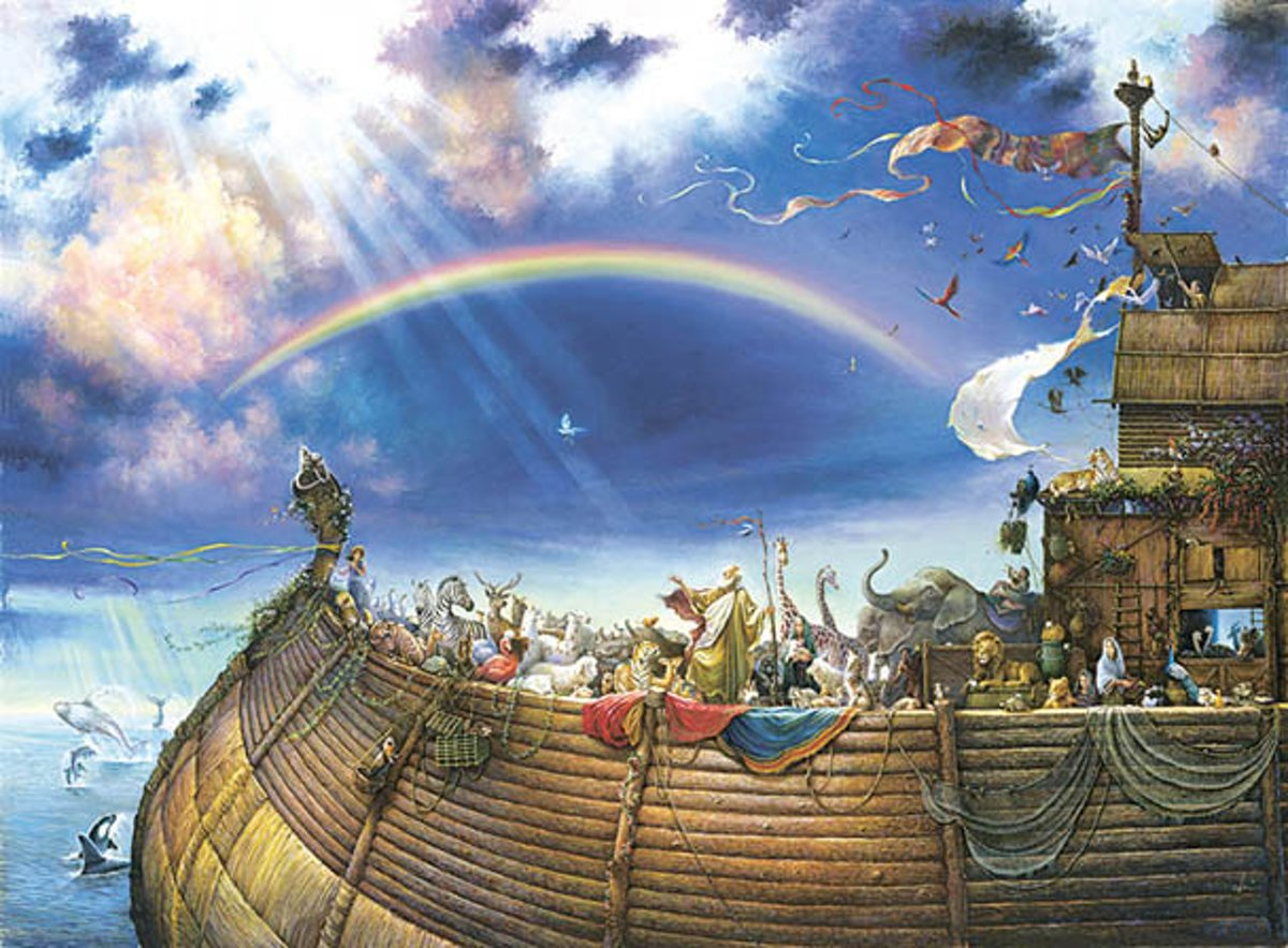 SunsOut legpuzzel Tom du Bois' Noah's Ark 1500 stukjes kopen