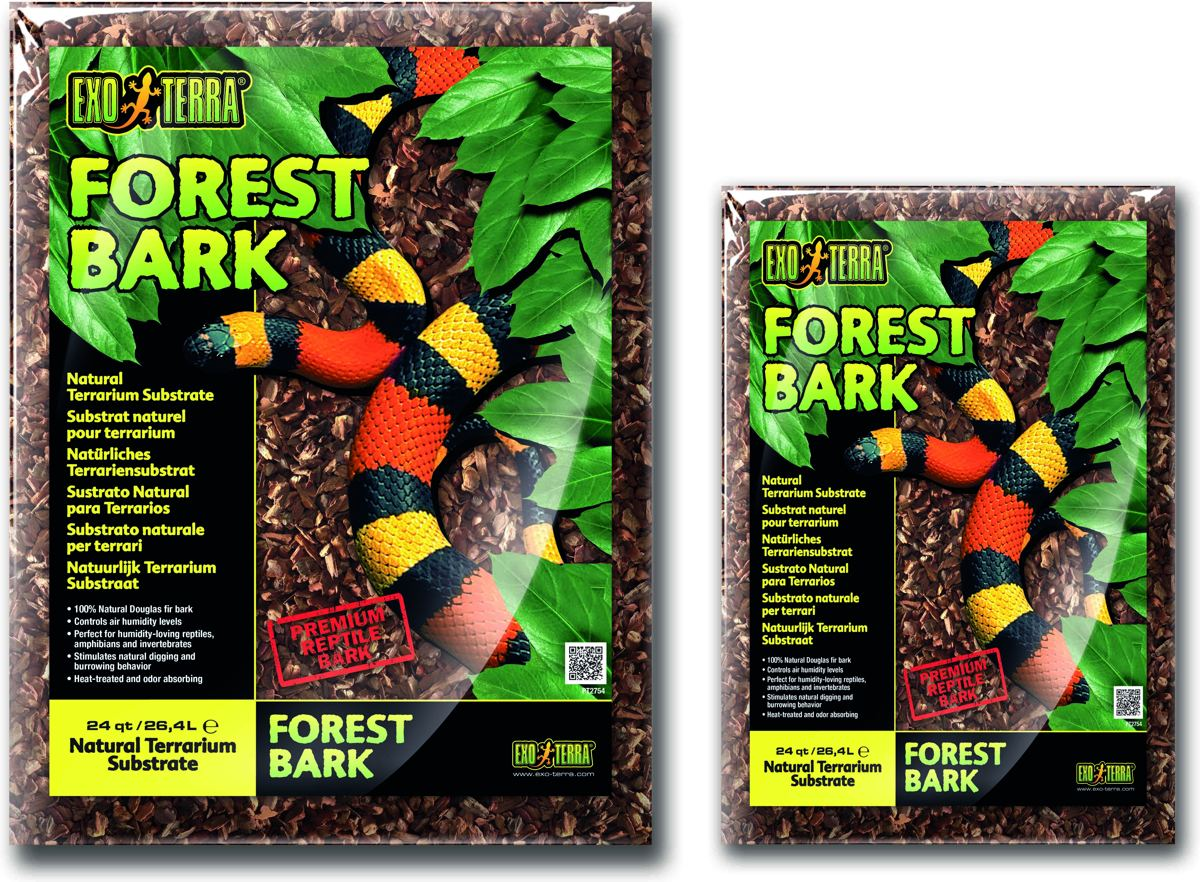 Exo Terra - Terrarium Substraat Forest Bark - 26,4L