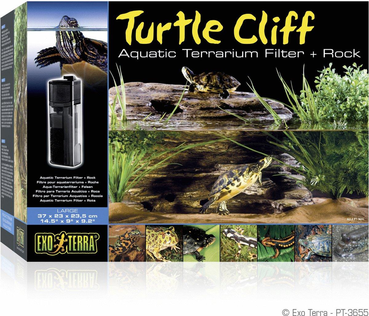 Exo terra Tartarium decoratie Turtle Cliff  - B - 37 x 23 x 23,5 cm