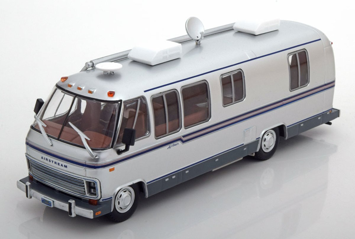 Airstream Excella Turbo 280 1981 Zilver 1-43 Greenlight Collectibles