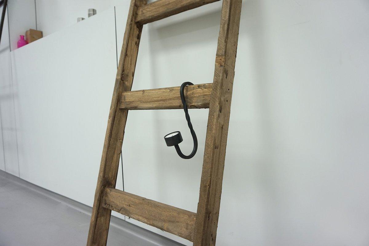 Houten Ladder Decoratie : Vintage trap vintage decoratie antiroest industriele vintage