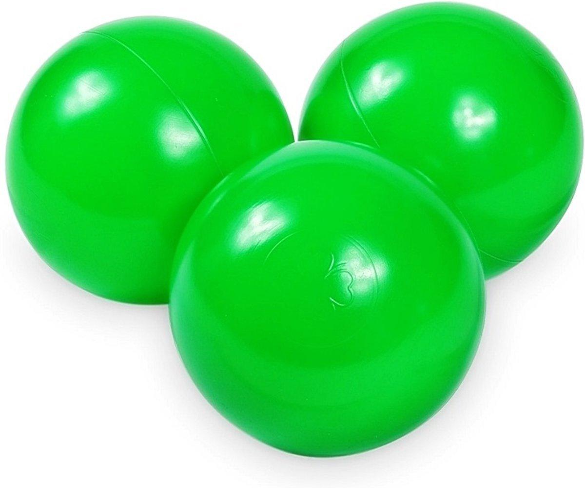 Ballenbak ballen groen (70mm) voor ballenbak 300 stuks