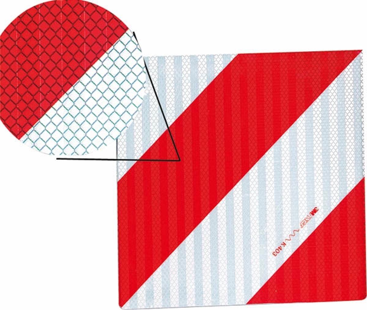 Westfalia Waarschuwingsbord eenzijdig rechts 282 x 282 mm kopen