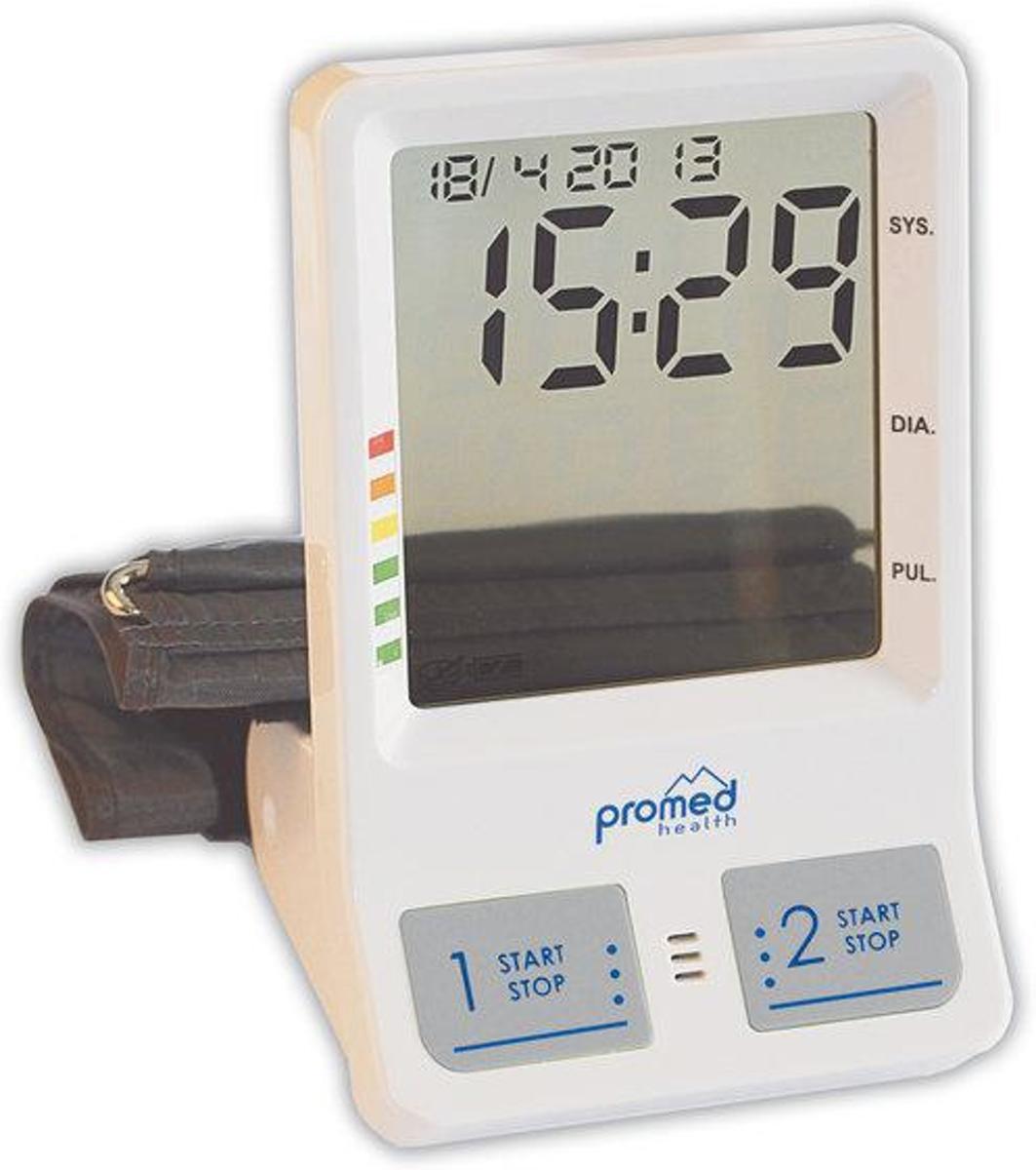 Promed PBW5.2 Bovenarm Bloeddrukmeter met wekker