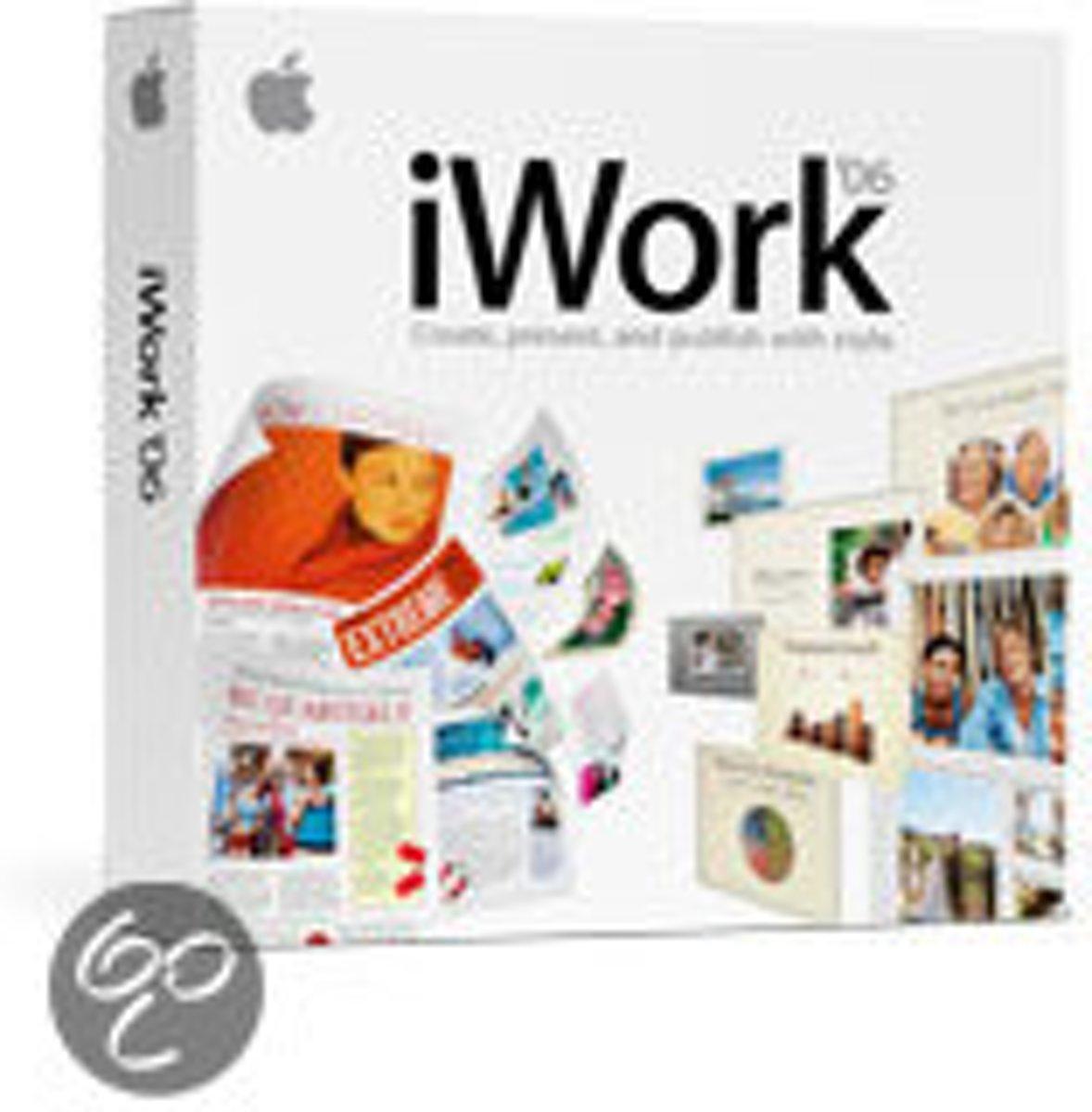 Apple iWork 06 EN kopen