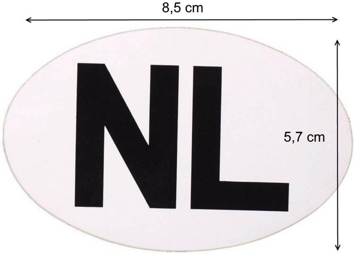ES NL Sticker Wit Zwart ORIGINEEL