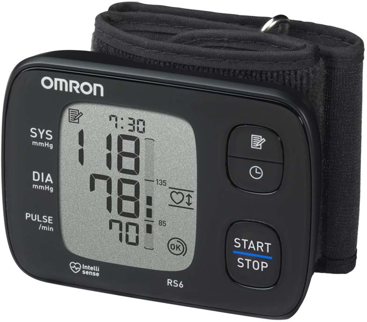 Omron RS6 Bloeddrukmeter - Polsmeting
