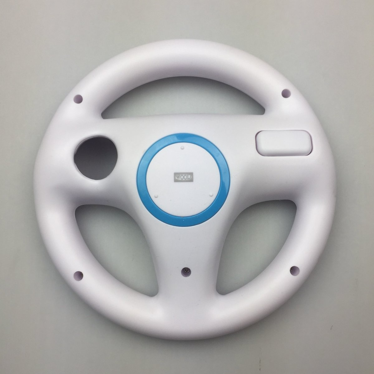 Nintendo Wii & Wii U Controller Race Stuurwiel/Steering Wheel - Wit kopen