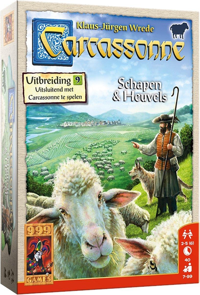 Carcassonne: Schapen & Heuvels Bordspel - Nieuwe editie