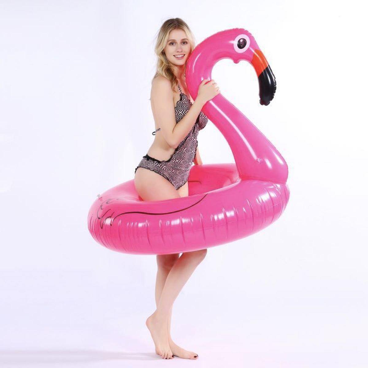 Opblaasbare Flamingo XL -1.20