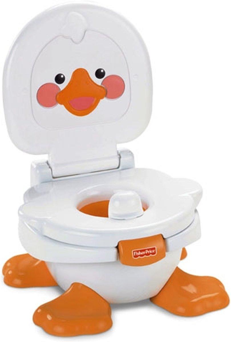 Fisher-Price Alles voor baby T6211 kinderpotje Oranje, Wit kopen