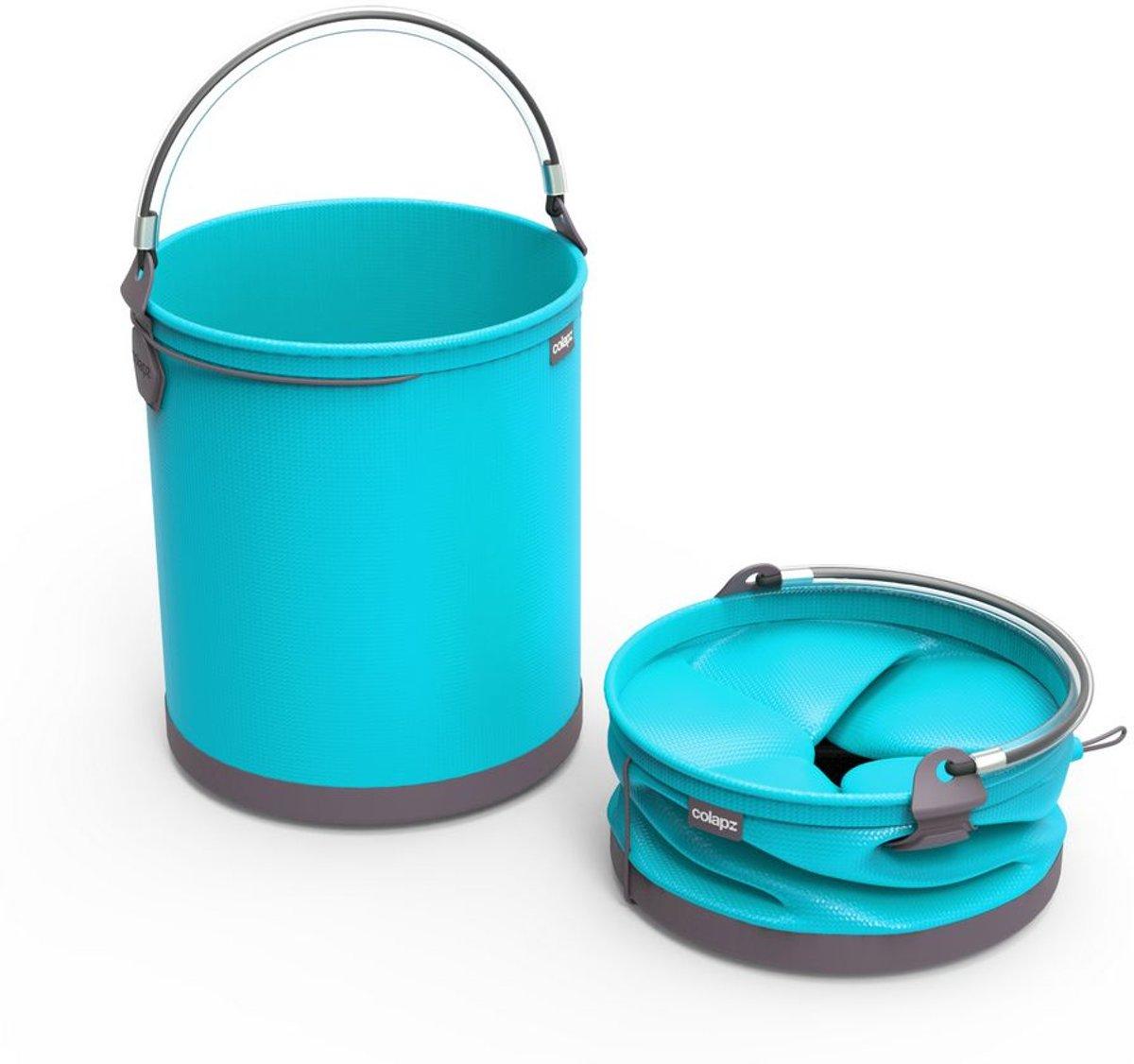 Colapz Emmer - Opvouwbaar - 10 Liter - Blauw kopen