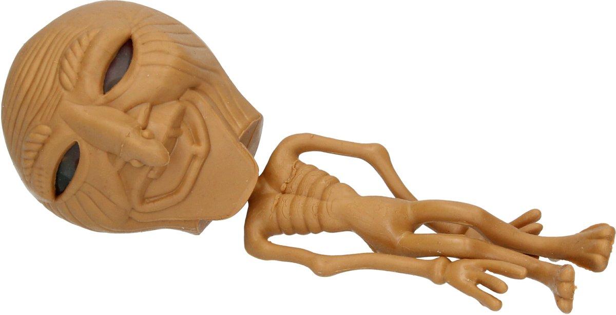 Orbeez Stressbal Alien voor Kinderen – Stress Speelgoed – Squishy – Bruin