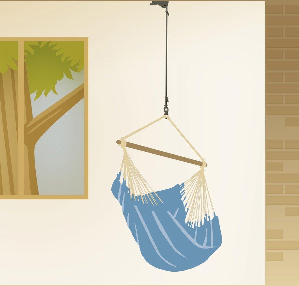 Hangmat Ophangen Plafond.Bol Com La Siesta Bevestigingsset Hangstoel Home Rope