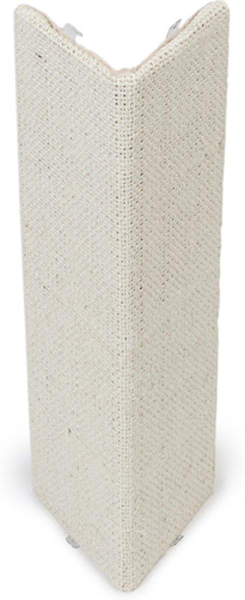 Beeztees Esta Hoekmodel - Krabplank - Beige - 28x52 cm