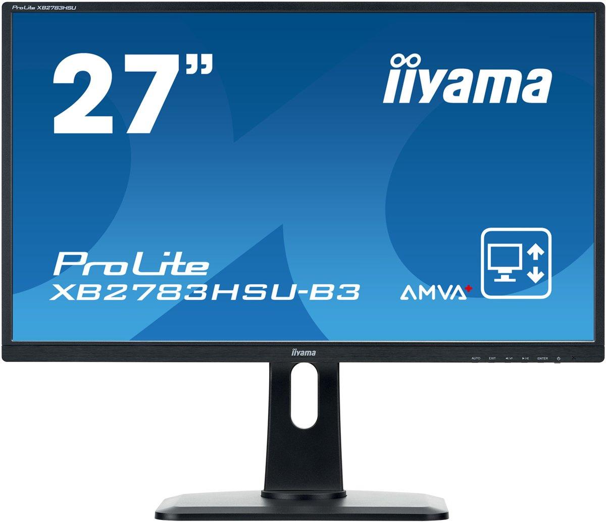 Iiyama ProLite XB2783HSU-B3 - Full HD Monitor