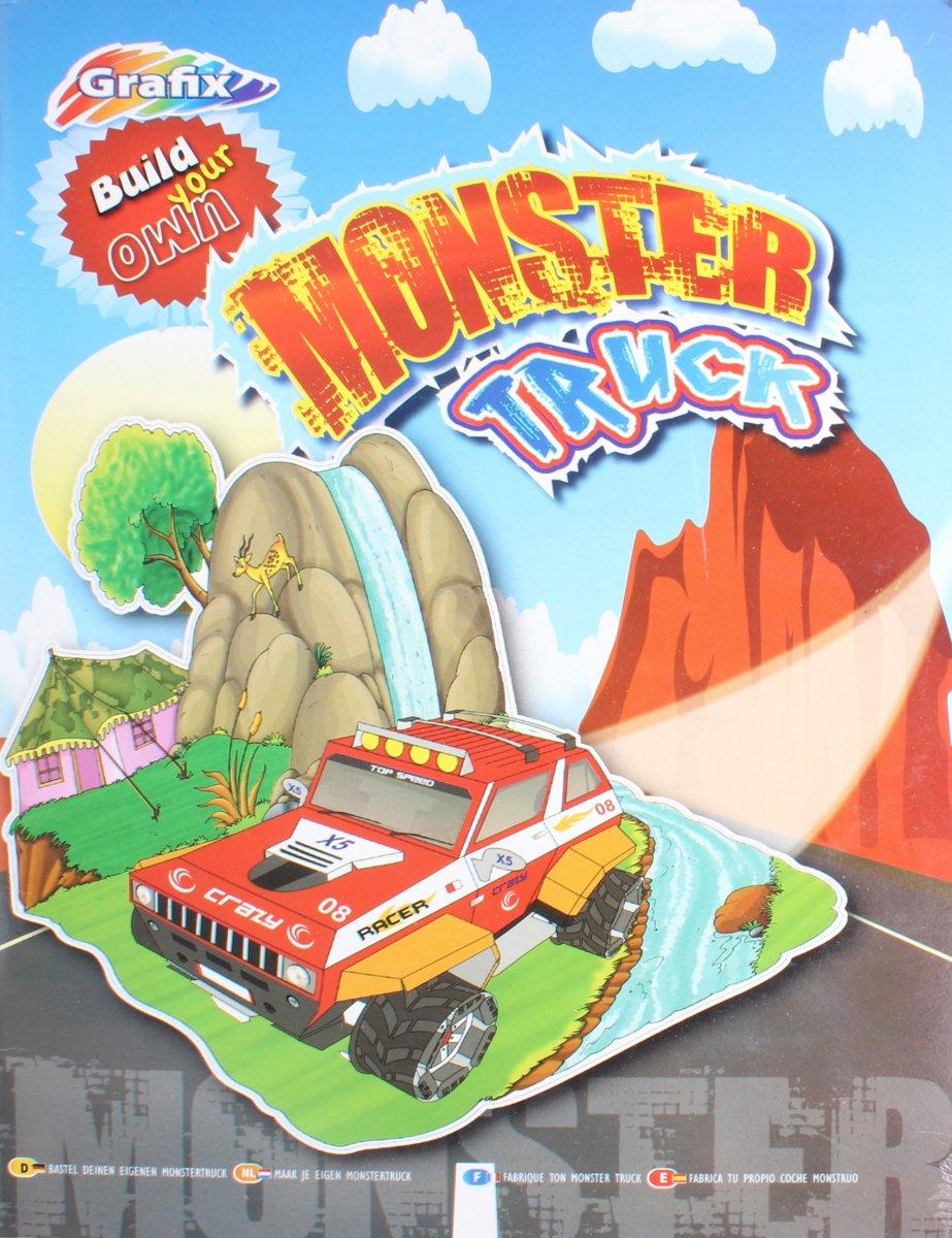 Grafix Bouwpakket Je Eigen Monstertruck 35-delig