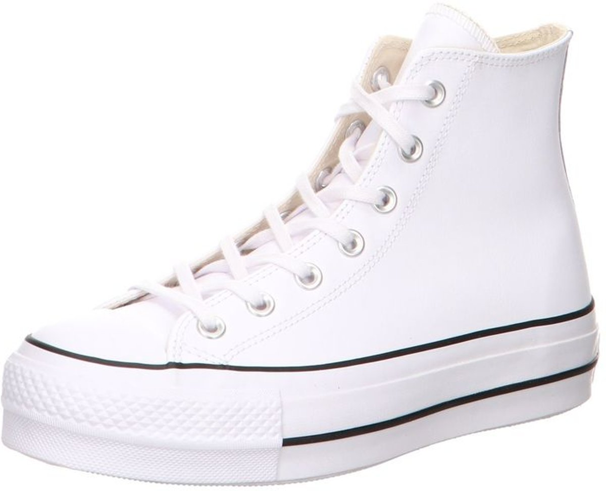 Converse All Stars Hoog Lift Clean Leather 561676C Wit 41
