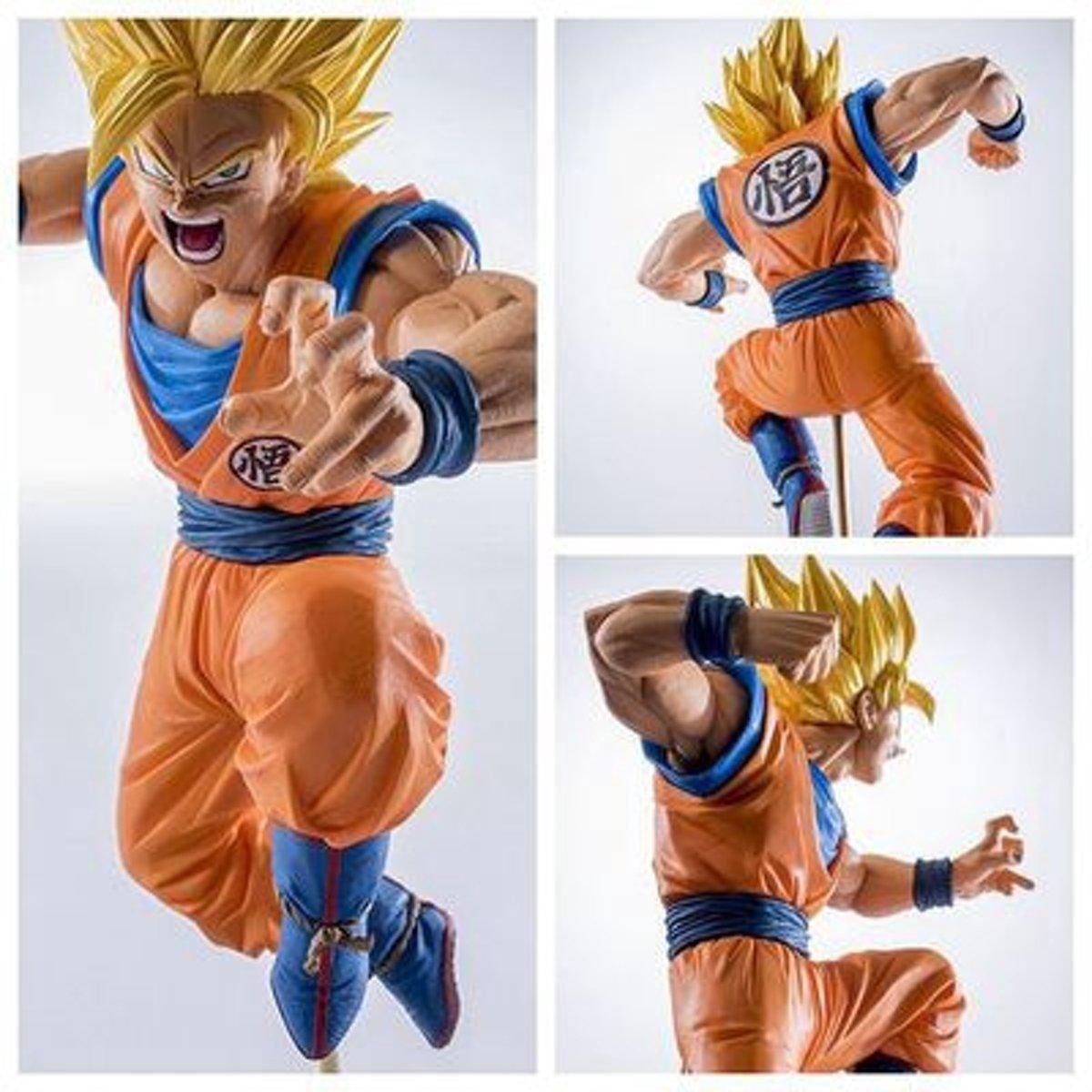 Super Saiyan Goku In Actie – Dragon Ball Z PVC Figuur 19cm kopen