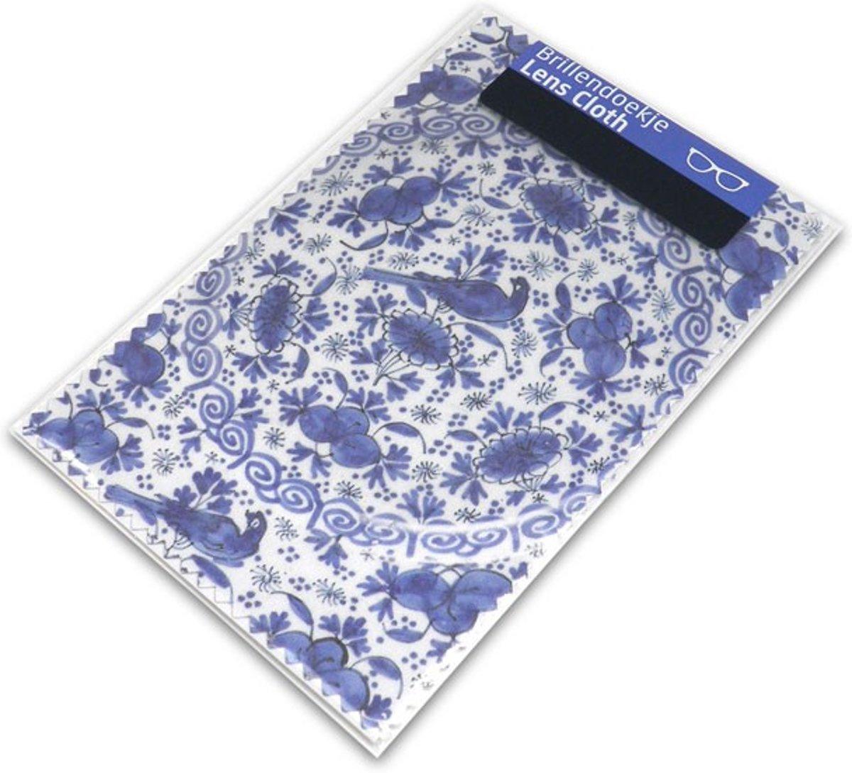Brillendoekje, Delfts Blauw, Bord van faience kopen