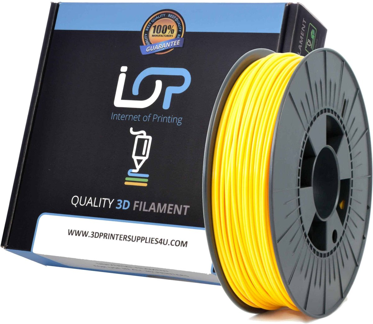 IOP PLA 2,85mm Yellow 1kg