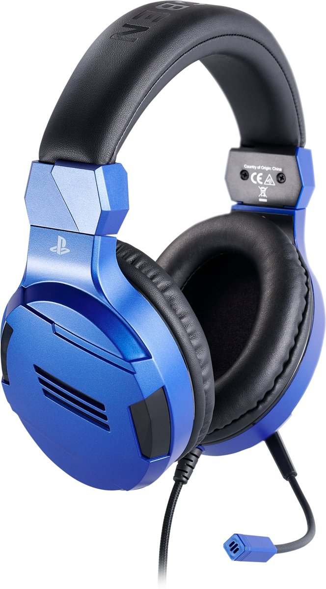 Official Licensed Playstation 4 Stereo Gaming Headset - PS4 - Blauw kopen