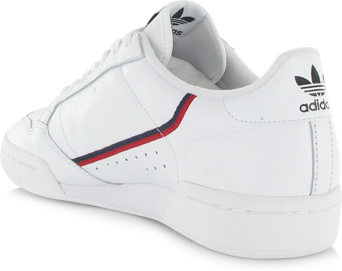 adidas Continental 80 G27706, Mannen, Wit, Sneakers maat: 46