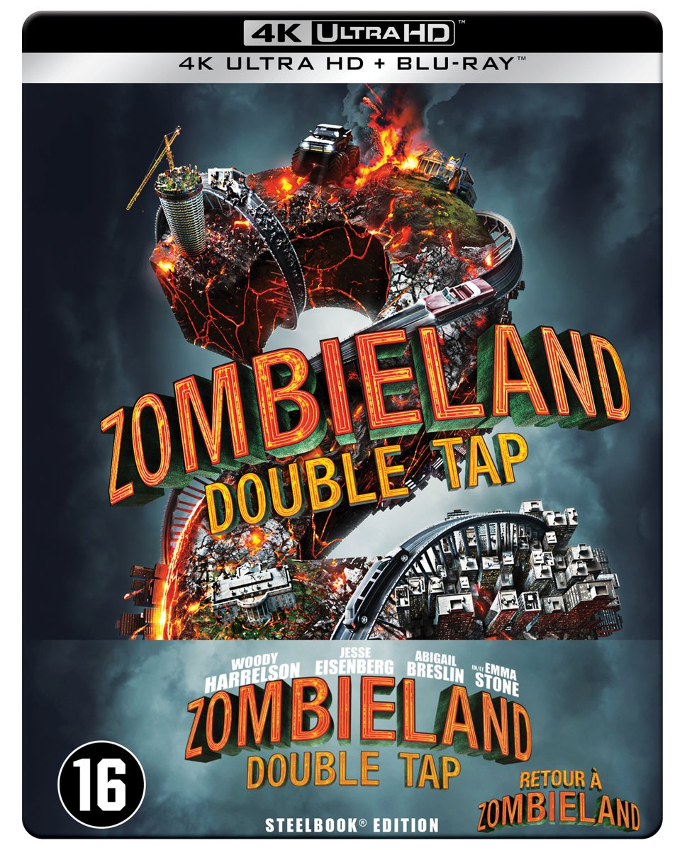 Zombieland 2: Double Tap  (Steelbook) (4K Ultra HD Blu-ray)-