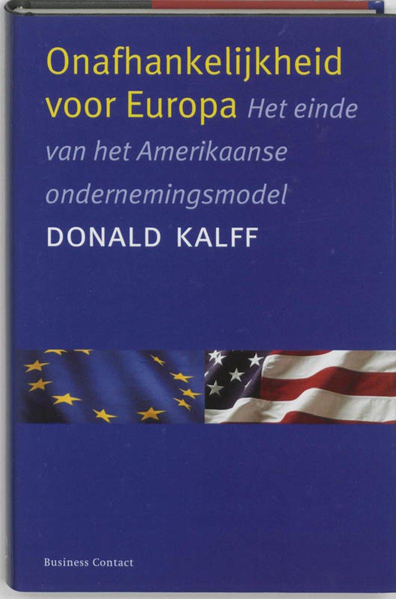 Onafhankelijkheid Voor Europa