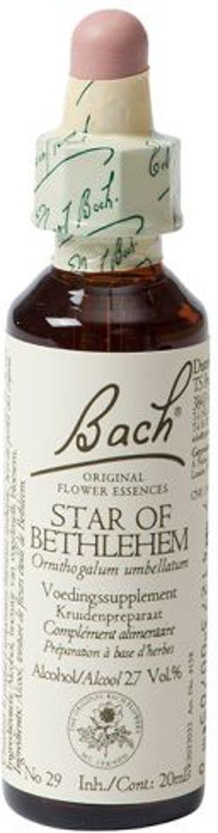 Foto van Bach flower Star Of Bethlehem Remedy - Vogelmelk - 20 ml - Voedingssupplement