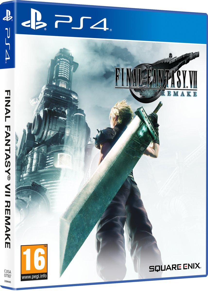 Final Fantasy 7 HD remake PlayStation 4