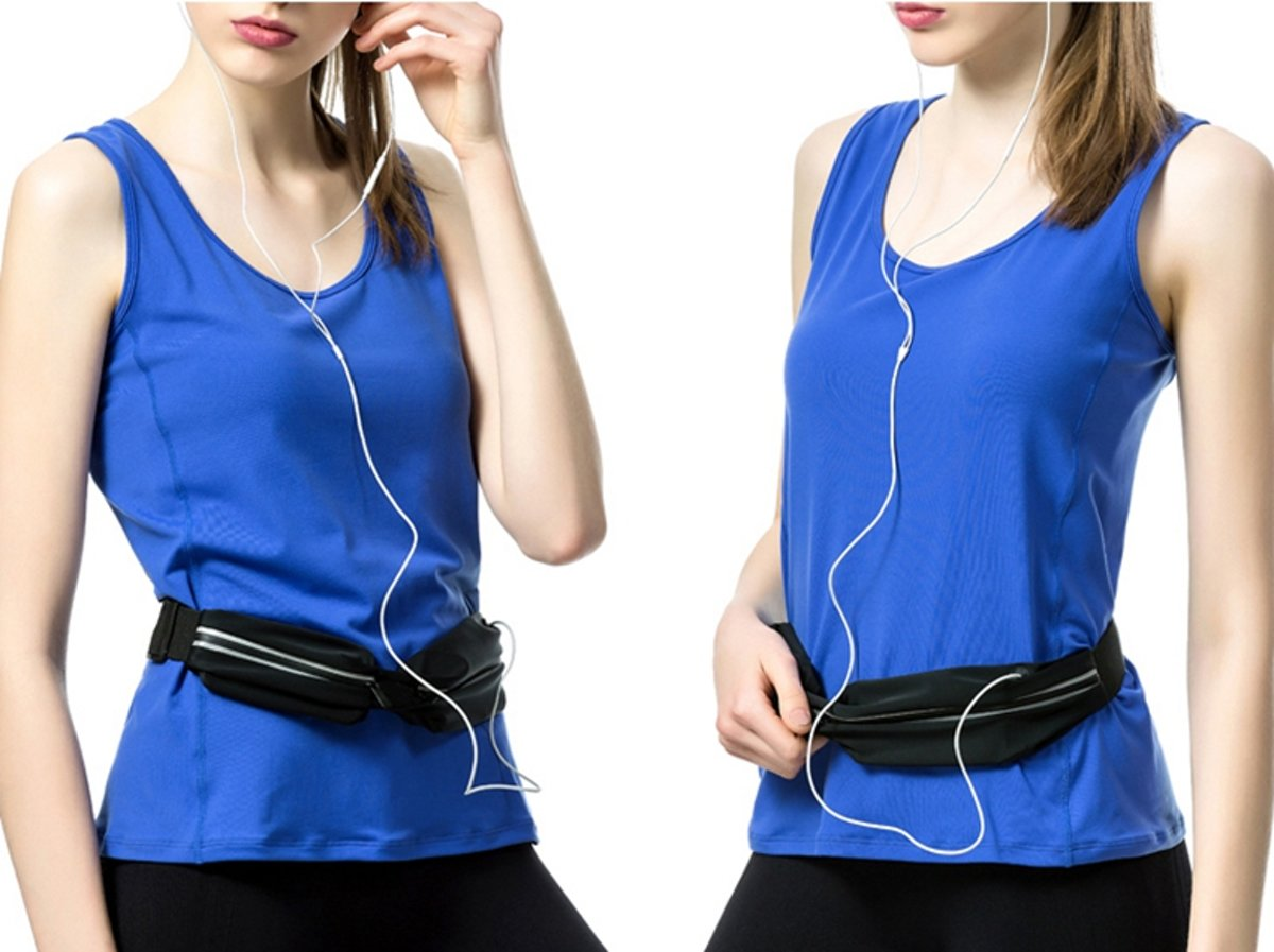 Hardloop Riem Waterdicht - Running Belt-  Mobiele Telefoon Houder - Jogging Riem  - Gym Fitness Heuptas - Sport Accessoires kopen