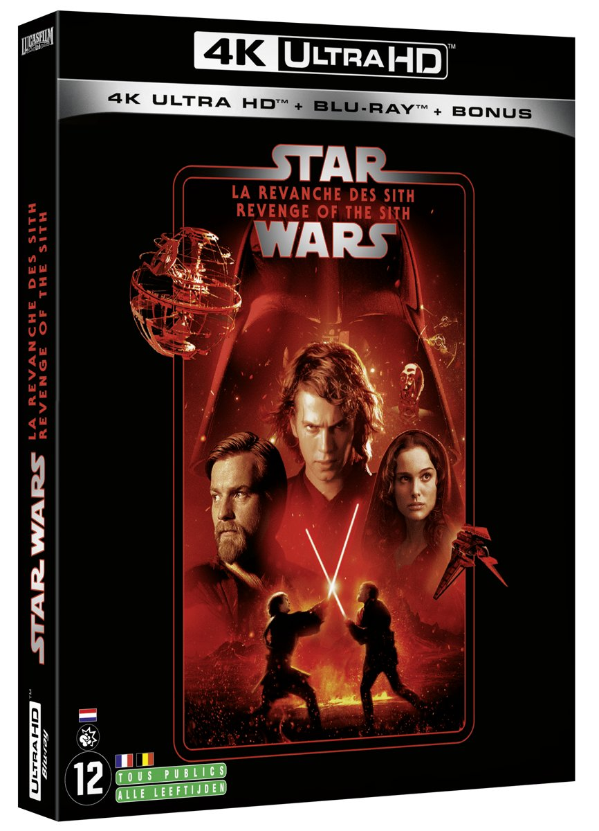 Star Wars Episode III: Revenge of the Sith (4K Ultra HD Blu-ray) (Import zonder NL)-