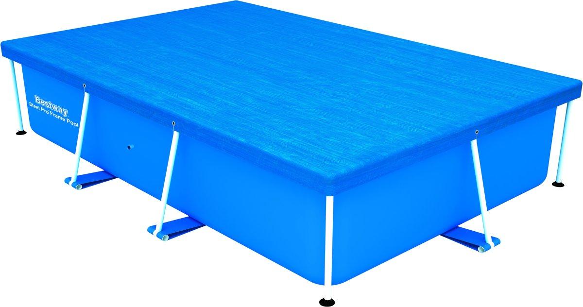 Bestway Pool cover - Zwembad afdekzeil 264 x 174 cm