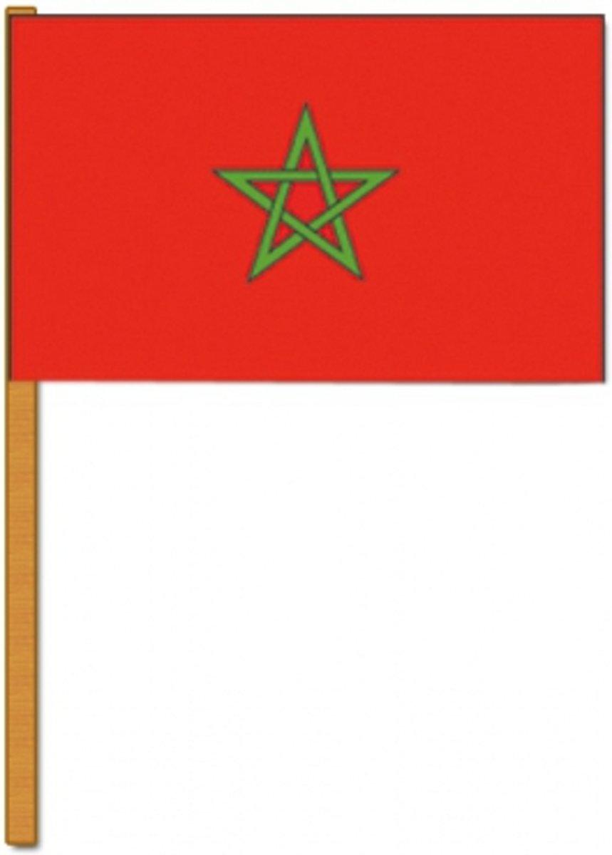 Luxe zwaaivlag Marokko kopen