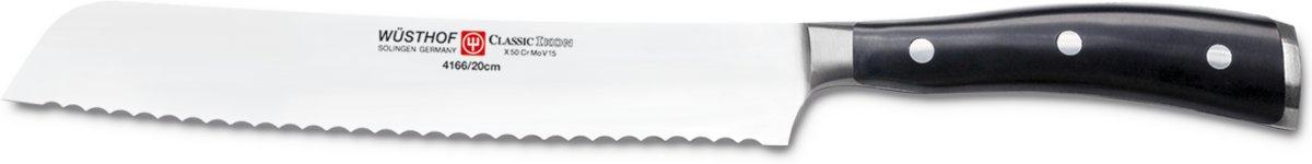 Wusthof Broodmes Classic Ikon 20 cm kopen