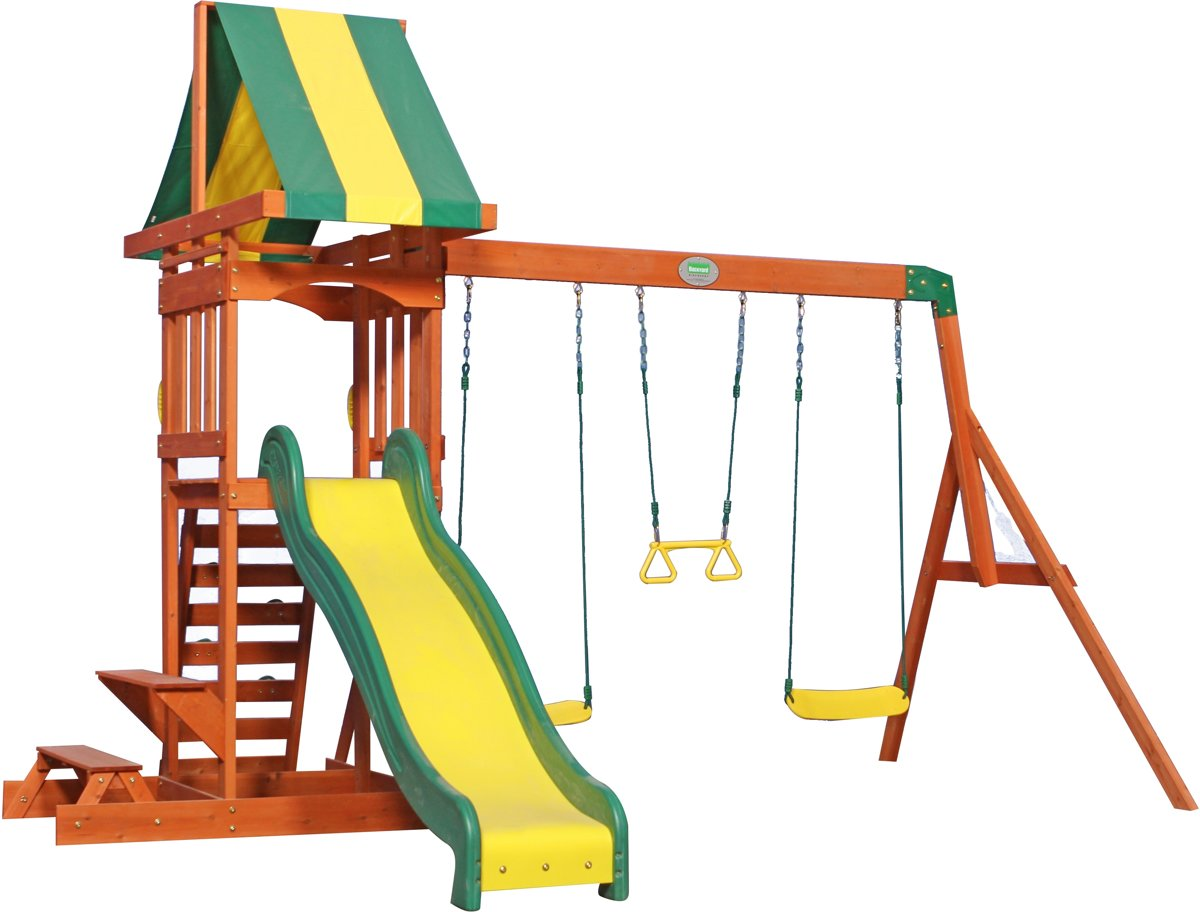 Sunny speelhuisjes Sunnydale Speeltoren (incl. schommels)