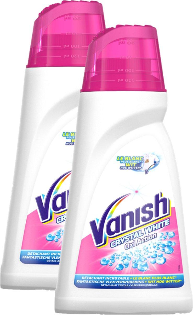 Vanish Vlekverwijderaar Gel Witte Was - 2 x 1 l - Grootverpakking kopen