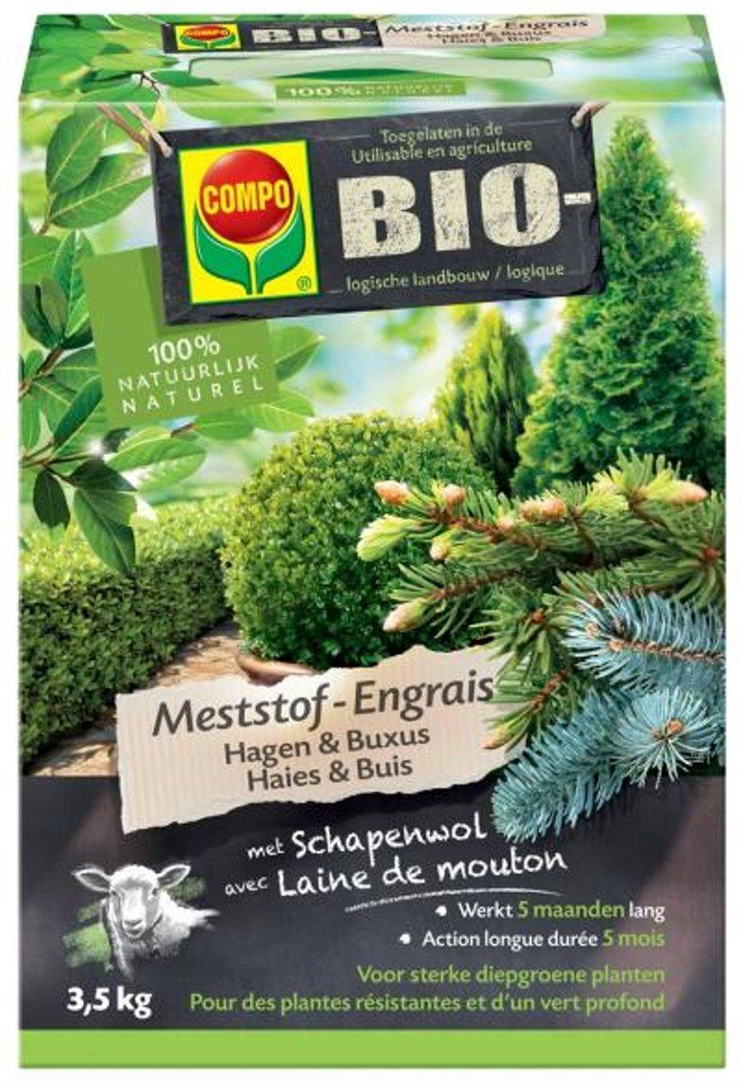 Bio Meststof Hagen en Buxus 3.5kg