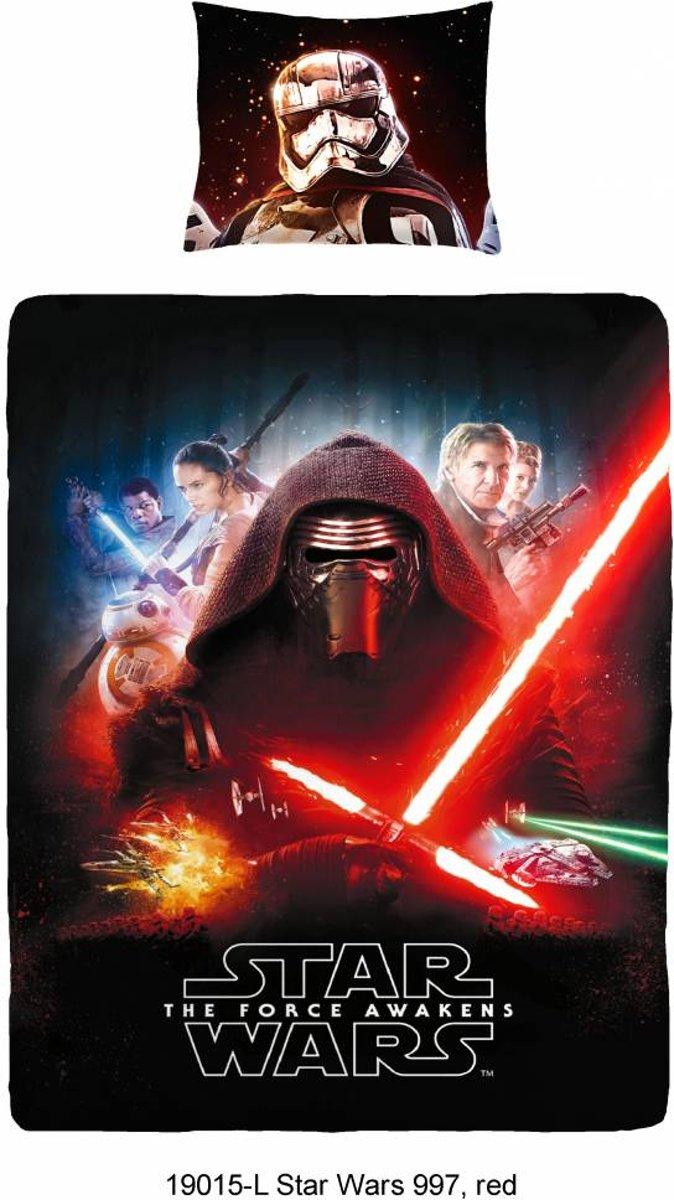 Dekbedovertrek Star Wars The Foce Awakens - 140x200cm + 1 kussensloop 60x70cm kopen