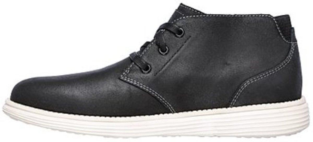 Skechers status rolano zwart sneakers heren Maat 43