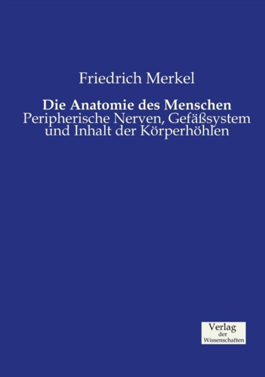 bol.com | Die Anatomie Des Menschen, Friedrich Merkel ...