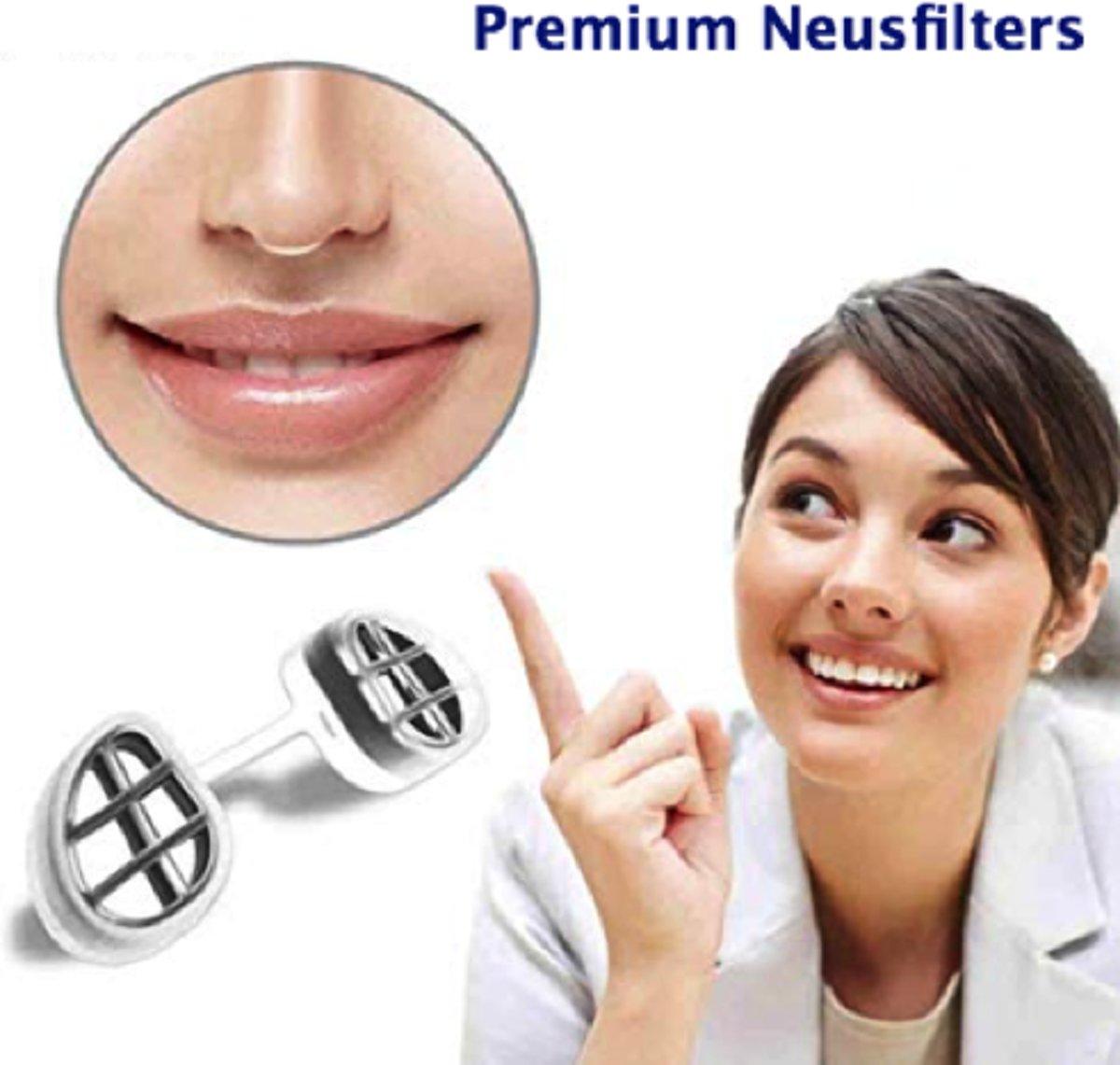 Foto van Anti Allergie M| Anti-Allergie |Neusfilters | Neus Filters | Anti-allergie apparaat | Anti Allergie Apparaat | Hooikoorts | Stofmasker | Stof masker | Adembescherming