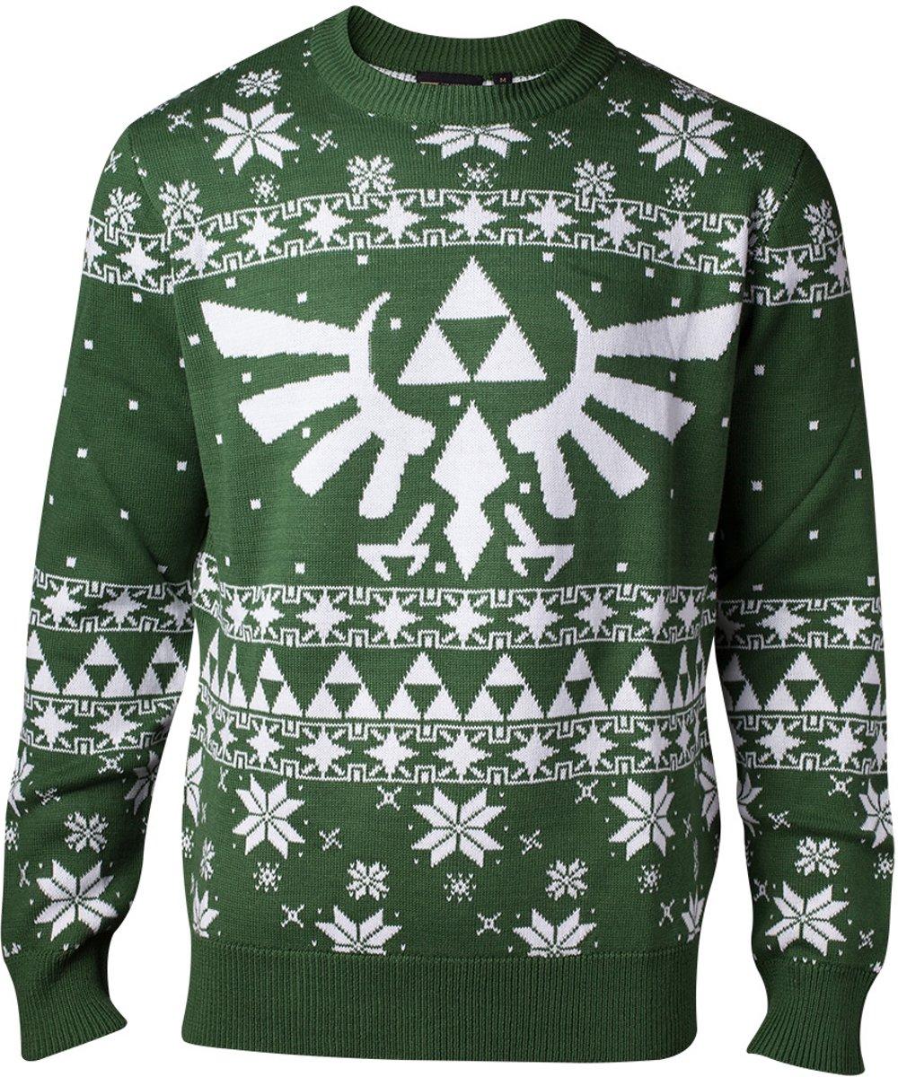 Starwars Kersttrui.Top Honderd Difuzed Zelda Kersttrui Maat S Groen